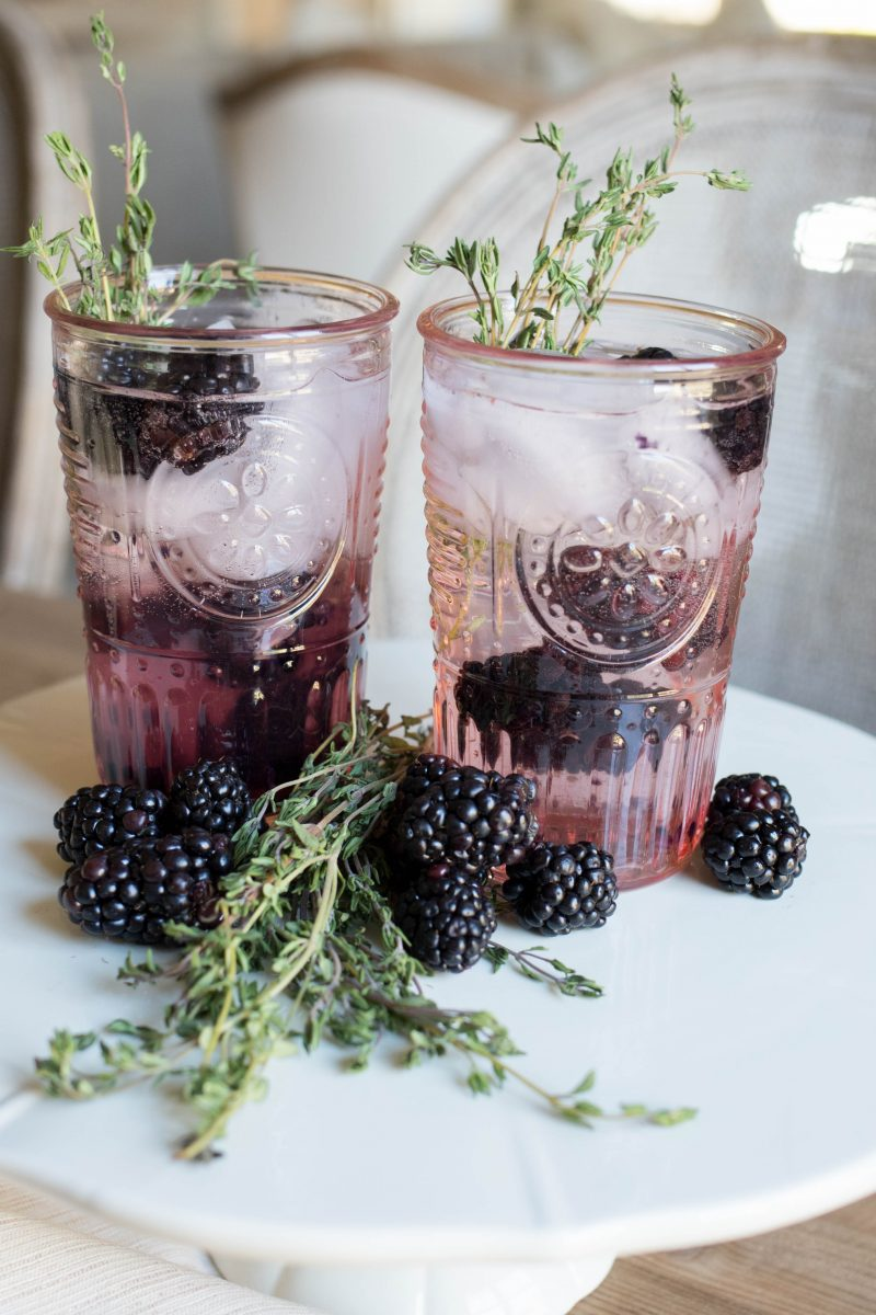 Blackberry & Thyme Cocktail